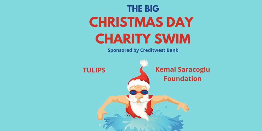Noel'de yardım için yüzecekler