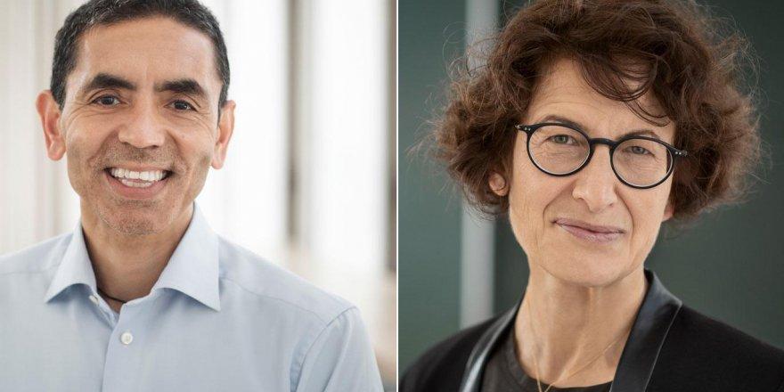 Financial Times Özlem Türeci ve Uğur Şahin'i yılın kişisi seçti