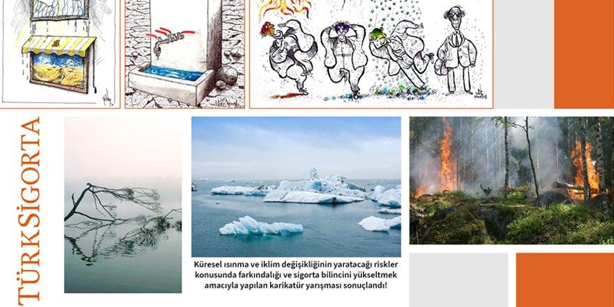 Türk Sigorta'nın düzenlediği karikatür yarışması sonuçlandı