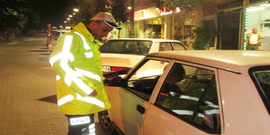 855 araç sürücüsüne ceza