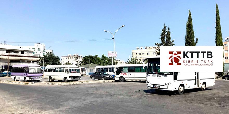 Kıbrıs Türk Toplu Taşımacılar Birliği'nden eylem kararı…