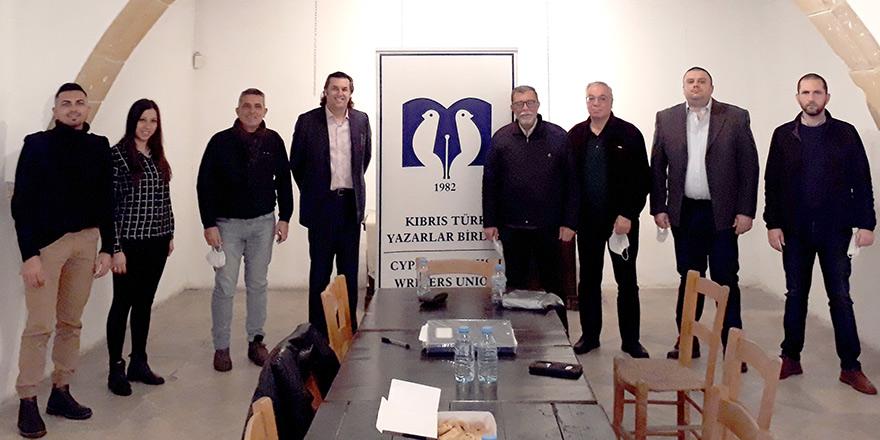 Kıbrıs Türk Yazarlar Birliği Dernek Başkanı yeniden Şevket Öznur