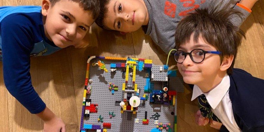 Çocuklar projelerini sergiledi