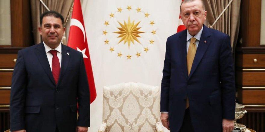 Erdoğan, Saner'i kabul etti
