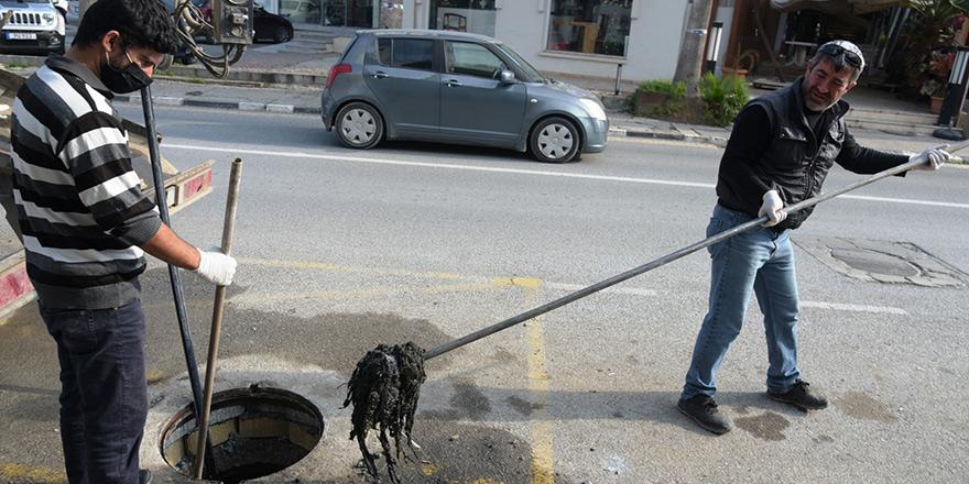 LTB, kanalizasyon ana hattındaki sorunun giderildiğini açıkladı