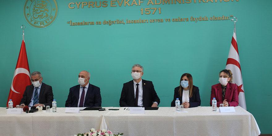 Evkaf'tan 18 milyon TL değerinde katkı