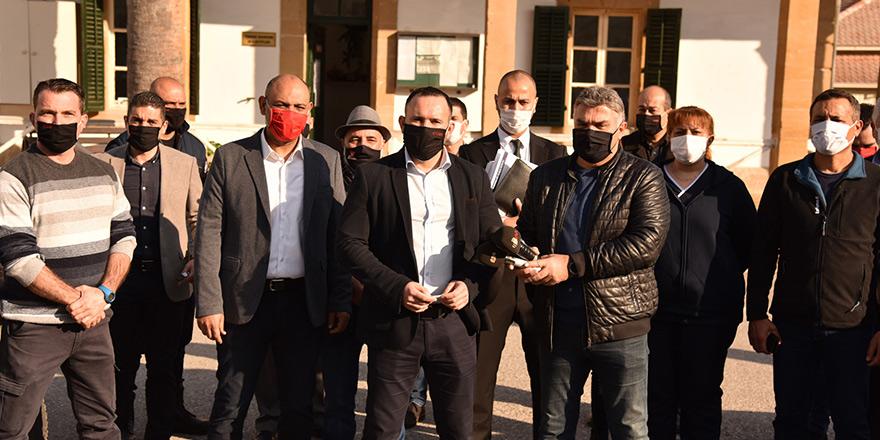 Sendikal Platform, Tatar hakkında dava dosyaladı