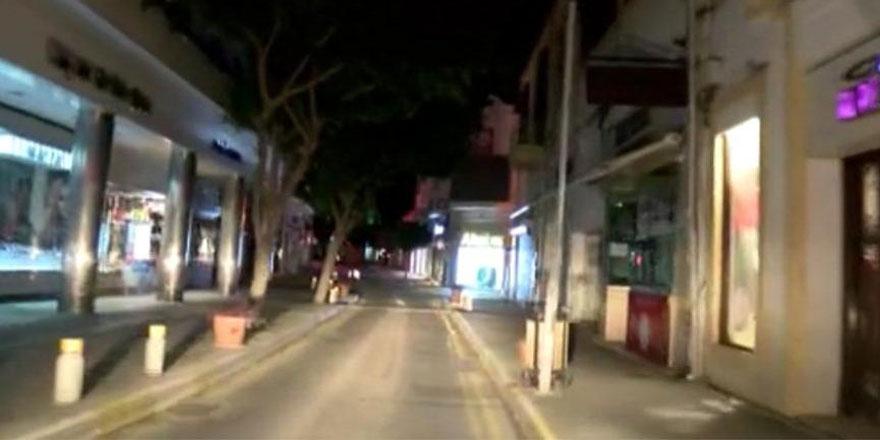 11 kişi sokağa çıkma yasağını ihlal etti
