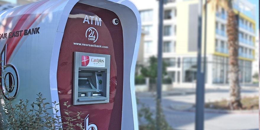Near East Bank ATM sayısını yaygınlaştırıyor