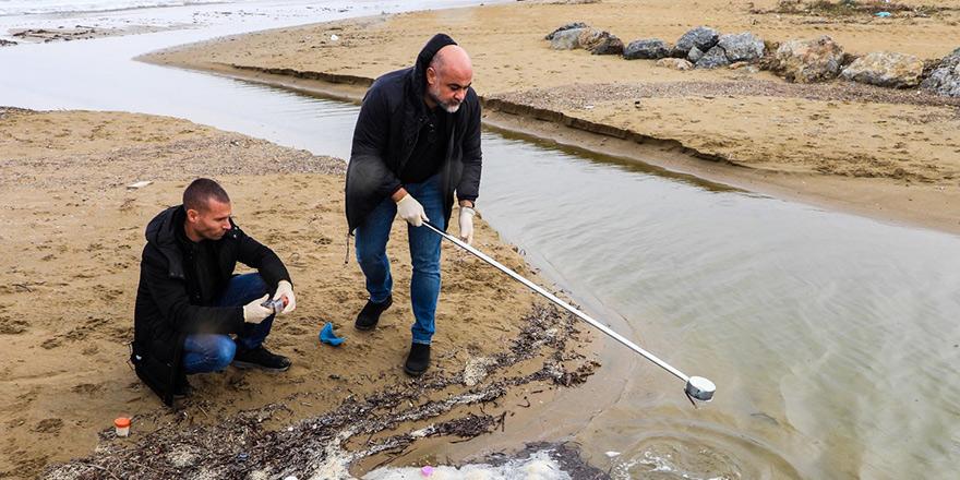 İskele'de deniz suyuna yapılan tahlilde kirlilik görülmedi
