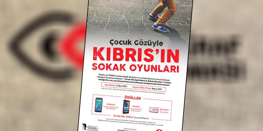 """""""Çocuk Gözüyle Kıbrıs'ın Sokak Oyunları"""" fotoğraf yarışması için son başvuru 5 Mart"""