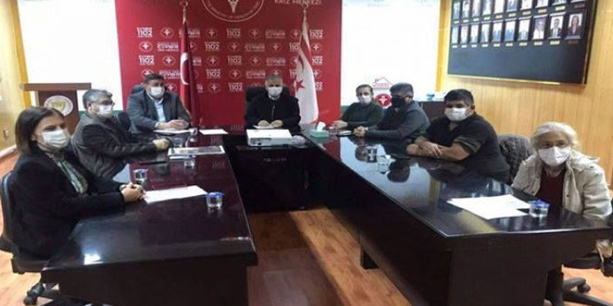 Komite toplandı, eğitim ve Girne bölgesi masaya kondu
