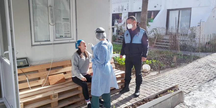 Lapta'daki pozitif vaka sayısı 12:  Taramalar sürüyor