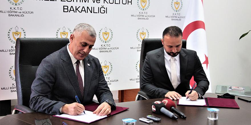 Altı İlçeye Altı İlkokul Projesi'ne ilişkin işbirliği protokolü imzalandı