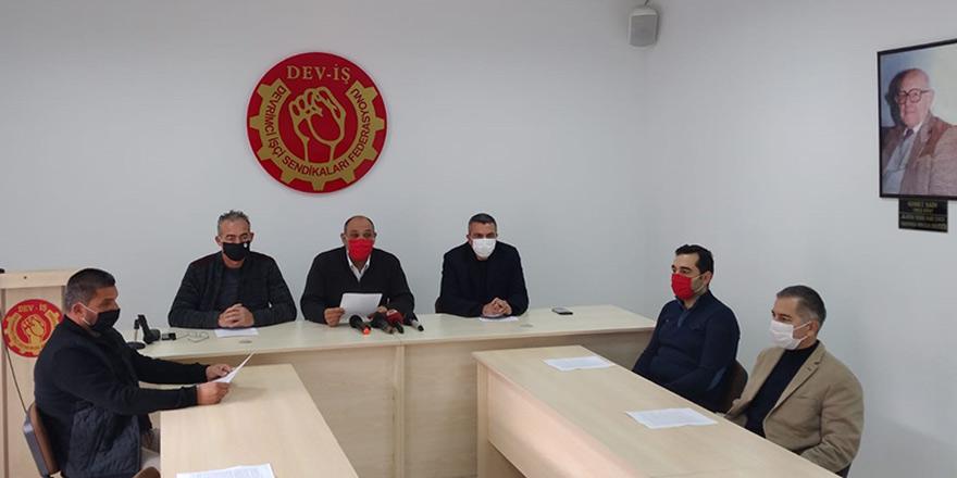 DEV-İŞ, BES VE HÜR-İŞ'in örgütlü olduğu belediyeler Perşembe günü iş bırakma eylemi yapacak