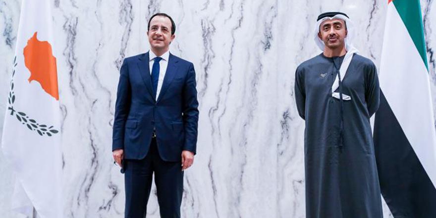 """Şeyh Abdullah'tan Kıbrıs'a """"işbirliği"""" vurgusu"""