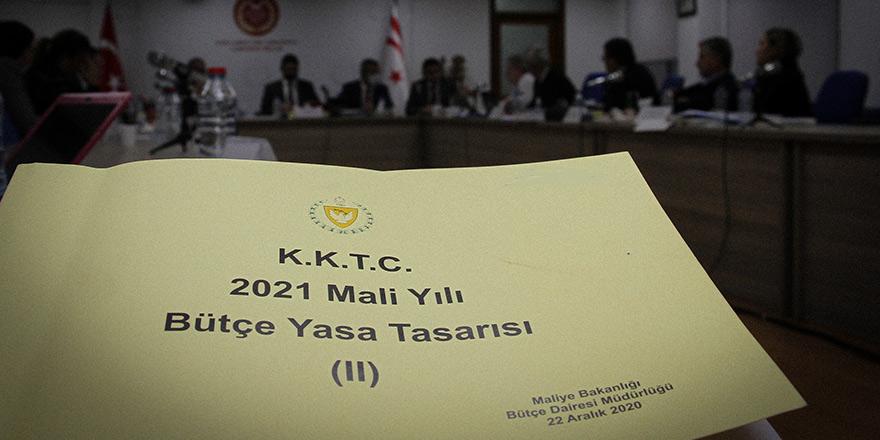 2021 Mali Yılı Bütçe Yasa Tasarısı, Meclis'te görüşülmeye başlıyor