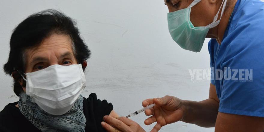 Birinci:  200 kişiye aşı yaptık, elimizdeki aşılar bitti