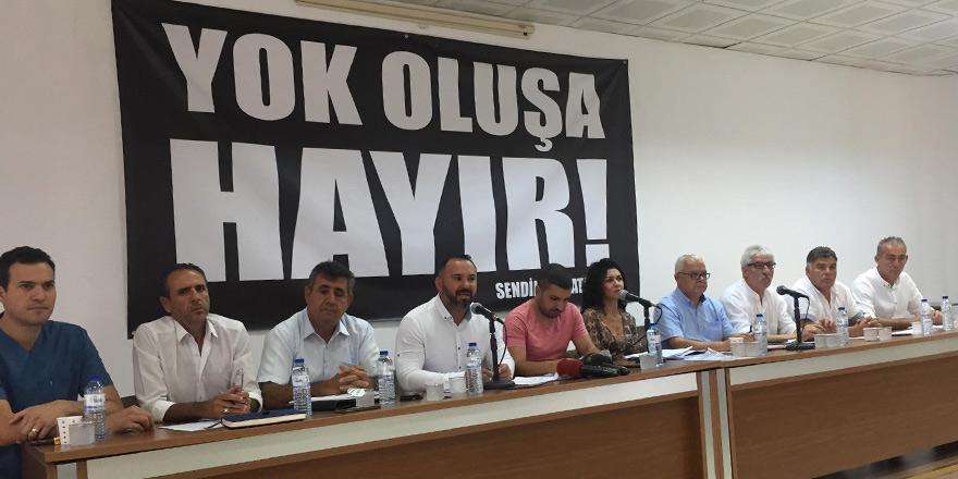 Sendikal Platform'dan belediyelerde örgütlü sendikaların eylemine destek