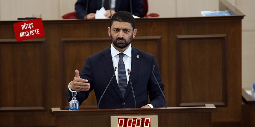 Atun, 2021 Mali Yılı Bütçe Yasa Tasarısı hakkındaki komite raporunu okudu