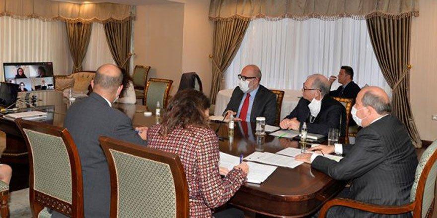 Tatar, Mario Nava ile telekonferans aracılığıyla görüştü