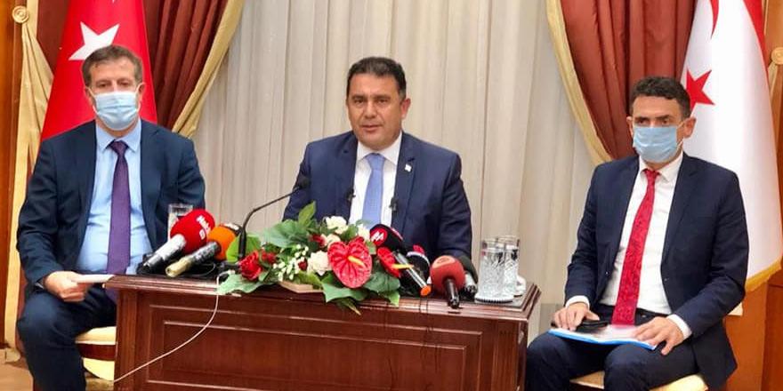 Hükümetten 'erken seçim' tasarısı  UBP-DP-YDP Erken Seçim için 3 Nisan 2022'yi önerdi