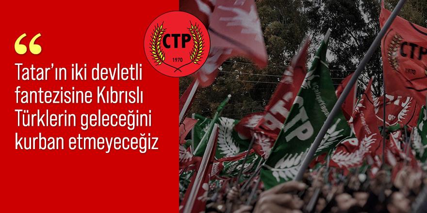 CTP'den federasyon açıklaması