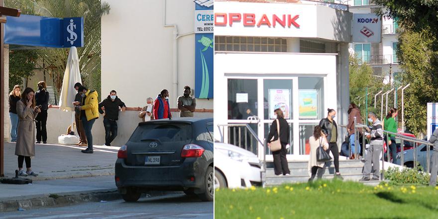 10 gün sonra yeniden aynı görüntü: Bankalarda yoğunluk