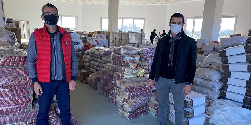 Creditwest çalışanları tarafından 524 yardım paketi bağışlandı