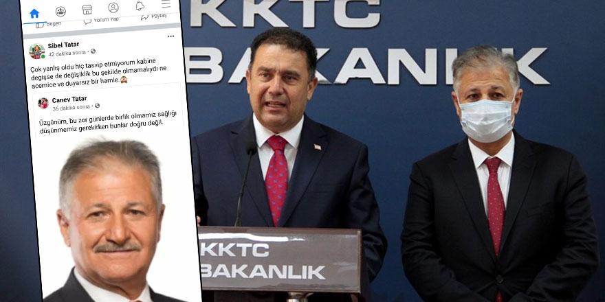 Cumhurbaşkanı Tatar'ın kızı ve eşinden tepki: Hiç doğru olmadı