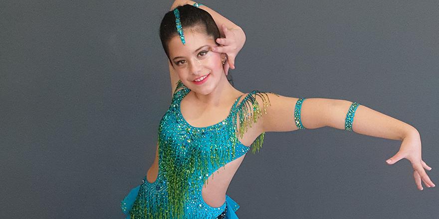 World Latin Dance Cup finallerinde bir Kıbrıslı