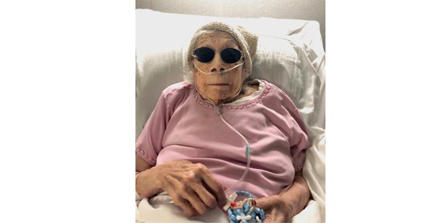 105 yaşında Covid-19 atlattı