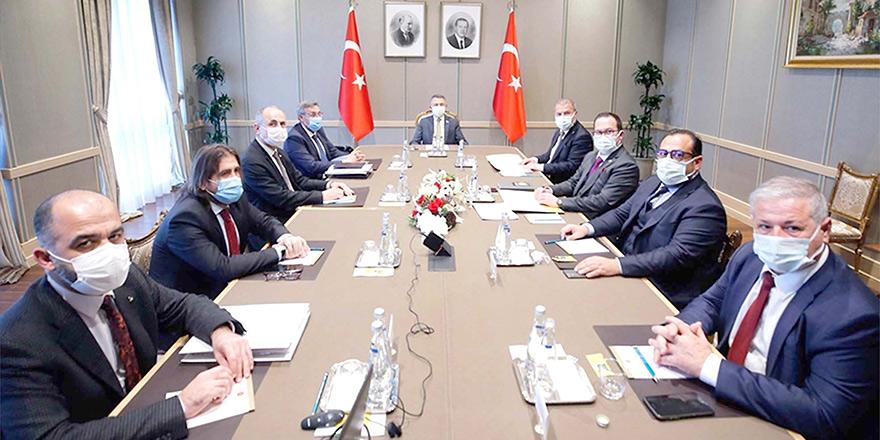 'Ülkesel plan' Ankara'da masada