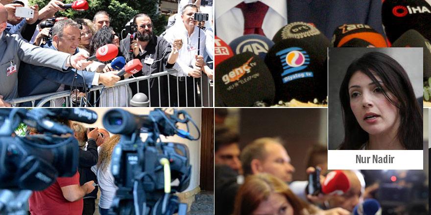 """Basın örgütlerinden Nur Nadir tepkisi  """"Hadsiz ve sınırını aşan ifadeler"""""""
