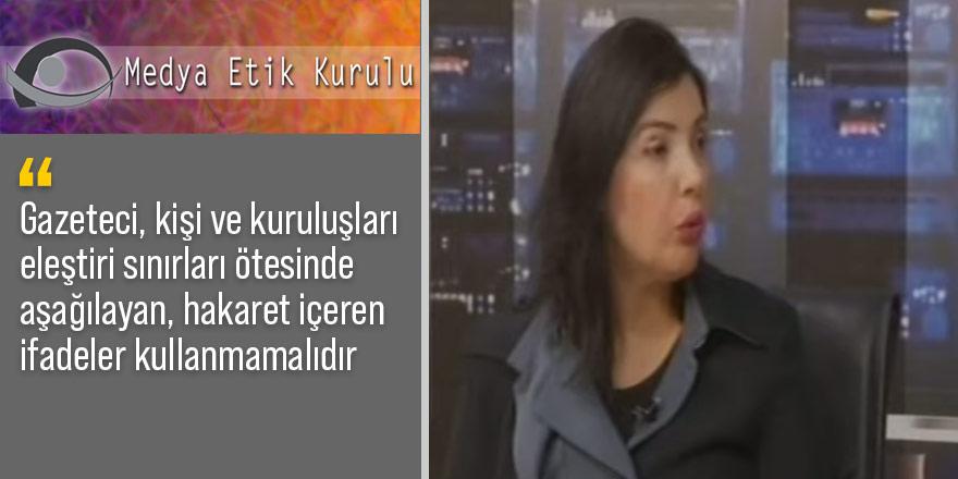 Medya Etik Kurulu Kıbrıs TV'yi kınadı
