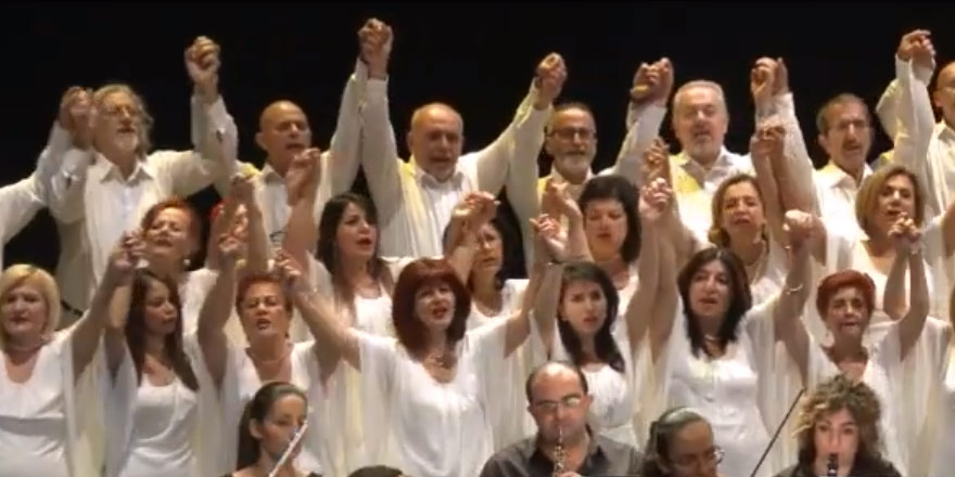 Kıbrıs'ta Barış için İki Toplumlu Koro'dan mesaj var