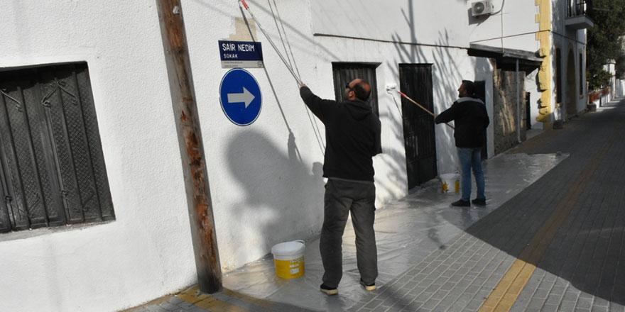 Yukarı Girne Mahallesi'nde çevre düzenlemesi yapıldı