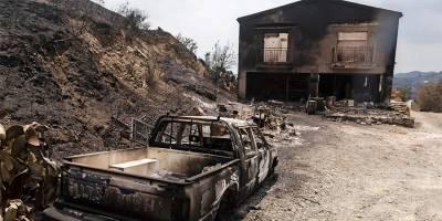 Yangının bilançosu: 3 bin 134 hektarlık alan ve 347 konut yandı