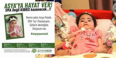 Yardımlar bu kez Asya bebeğe umut olacak
