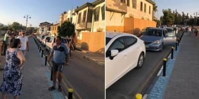 Zahra Sokak'ta yayalaştırma gerginliği