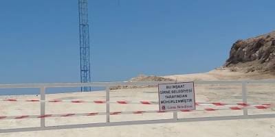 Tartışmalı site inşaatı mühürlendi