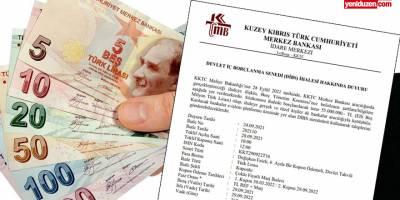Maliye yine borçlanıyor: 155 milyon TL borçlanma için ihale
